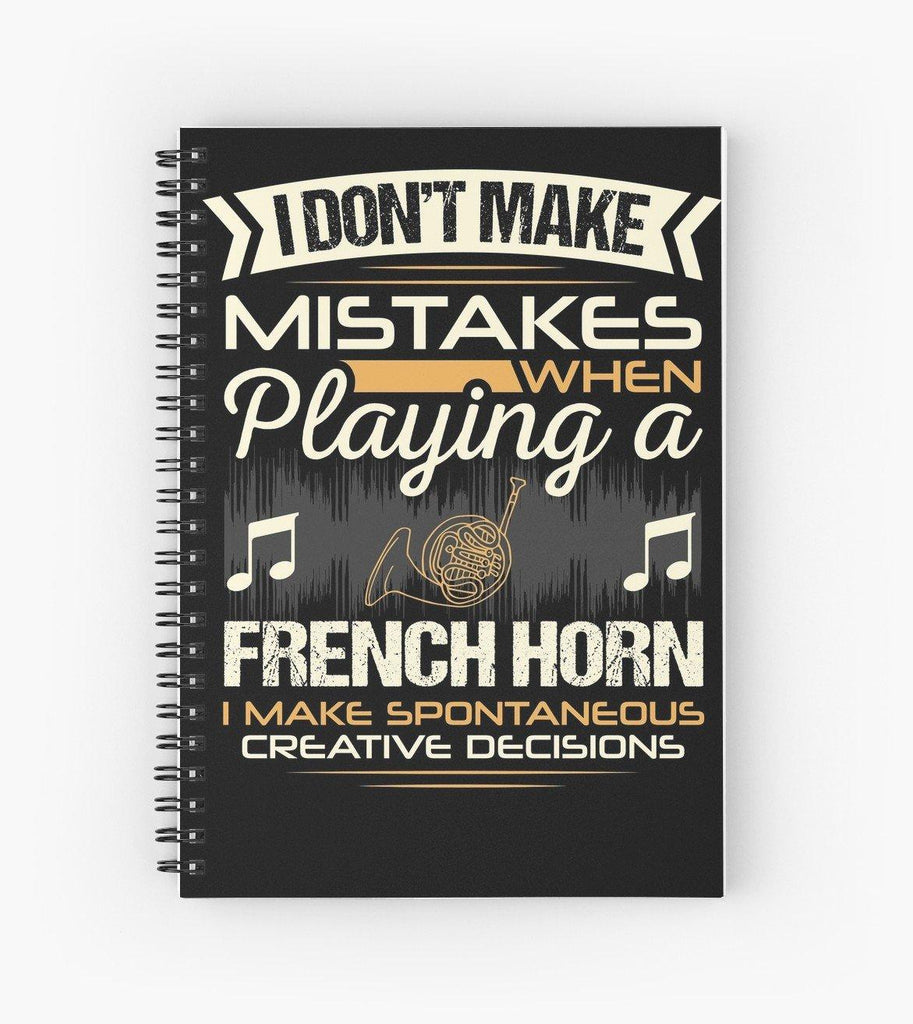 Flute Mistakes Spiral Notebook