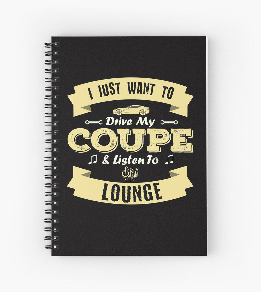 Coupe Lounge Spiral Notebook