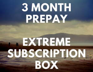 3 Month Prepay - Extreme Subscription Box