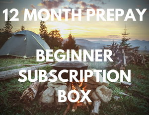 12 Month Prepay - Beginner Subscription Box