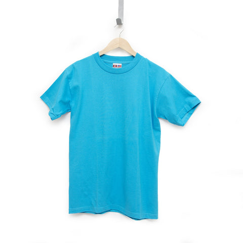 Teal 100% Cotton T-Shirt Made in USA