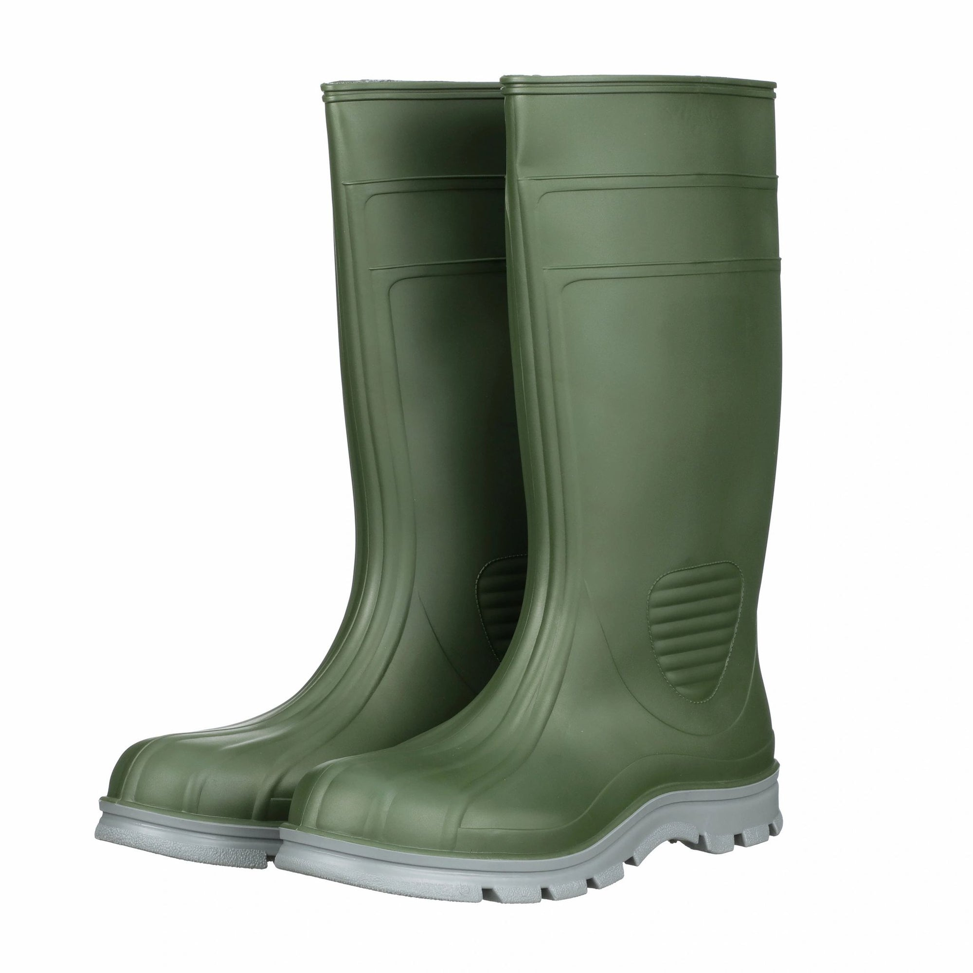"WorkTuff 15"" Green Steel Toe Polymar Boot"