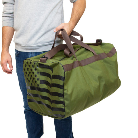 ALL AMERICAN CLOTHING GEAR BAG MADE IN USA