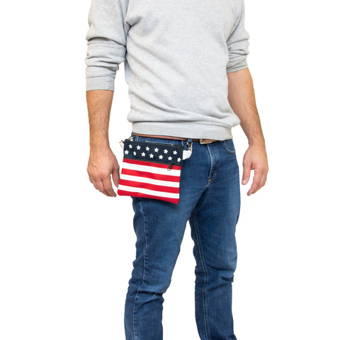 ALL AMERICAN CLOTHING HIP CLIP BAGS