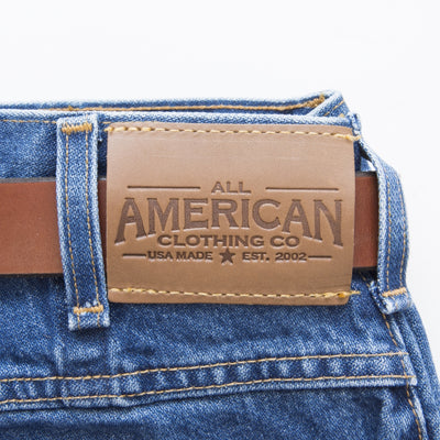 All American Men's Regular 5-Pocket Jean Short - Made in USA