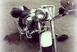 Buddy`s Motorcycle