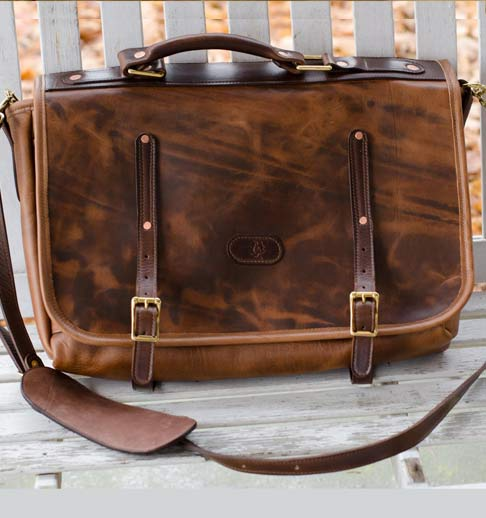 Burning Maple Briefcase