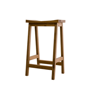 Solid Oak Stool