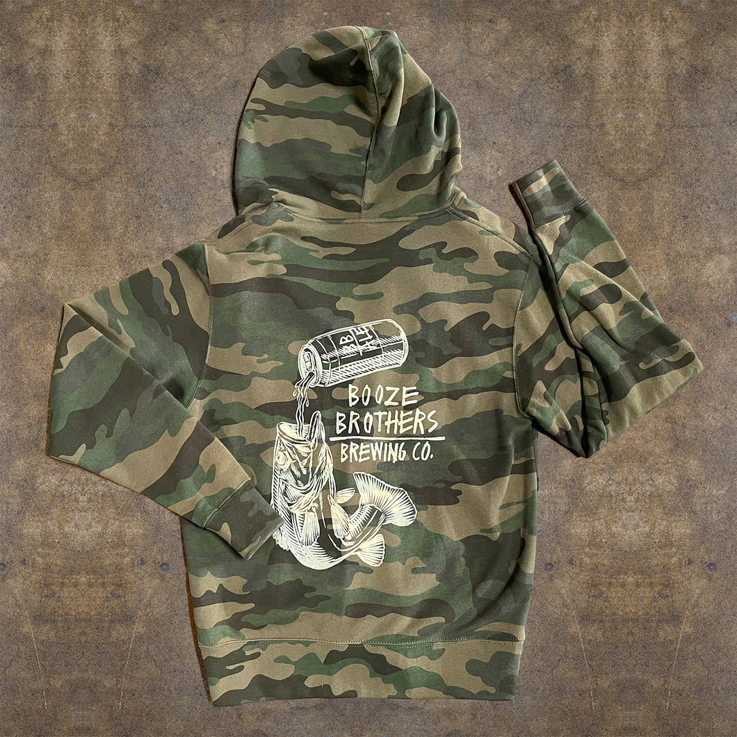 Camo Fish Zip Up