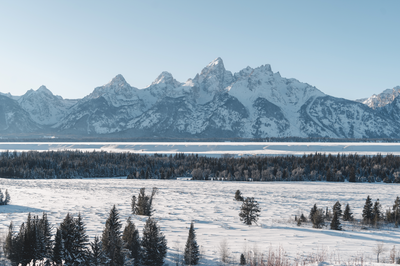 A Teton Adventure by Mike Lucas