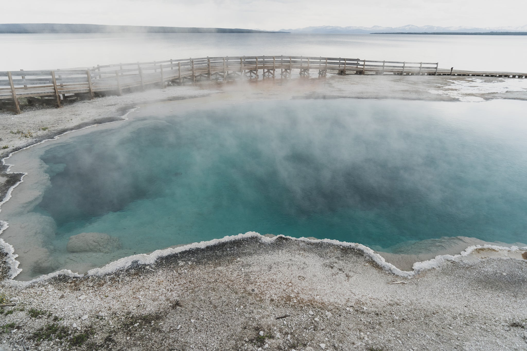 Sulfur Pool Yellowstone National Park