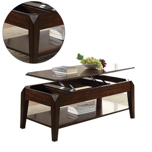 Coffee Table Lift Countertop, Multi function, Lifting Creative Storage Coffee Table