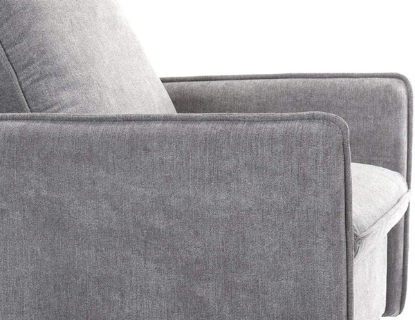 Accent Chair, Single Sofa Modern Upholstered