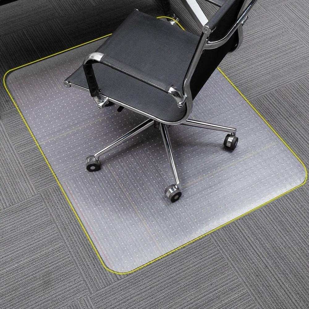 "Polycarbonate Office Chair Mat for Carpet, Rectangular 36""x 48"""