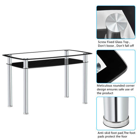 Double Glazed Dining Table