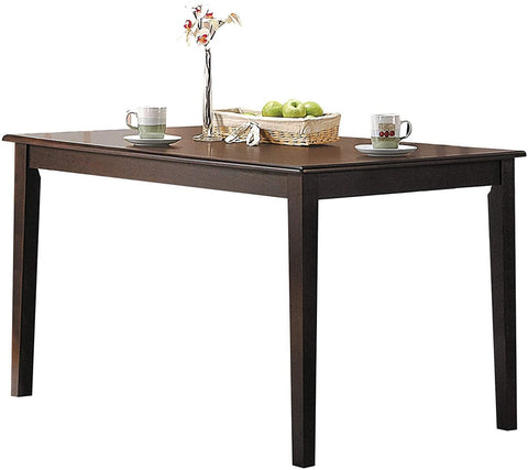 Cardiff Dining Table, Espresso Color