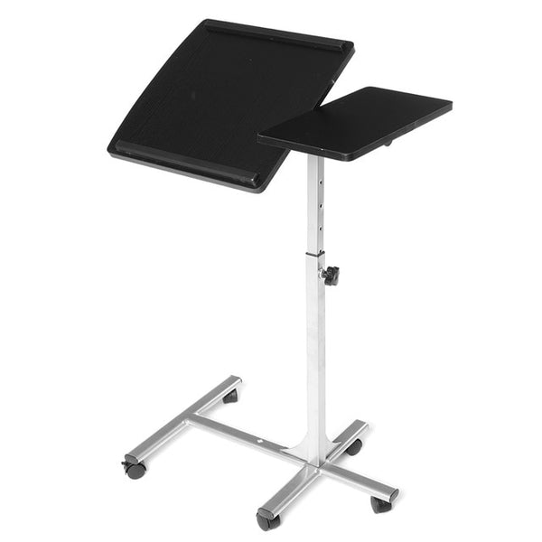 Douxlife Foldable Computer Table, Height Adjustable Portable Laptop Standing Desk