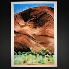 Load image into Gallery viewer, Uluru Dreaming Print