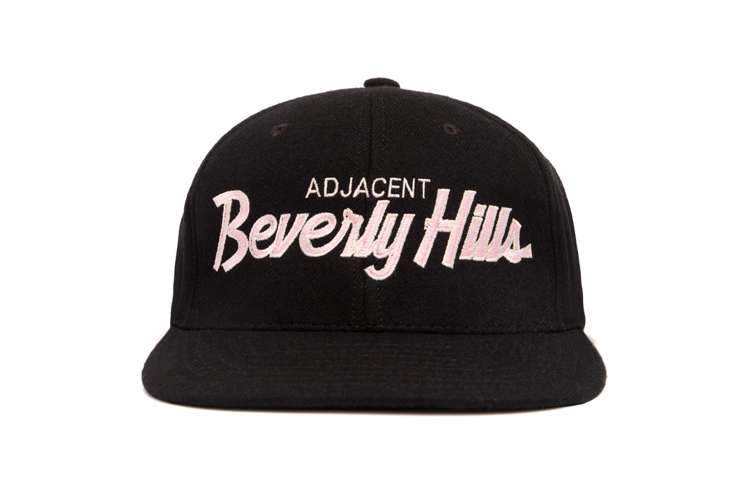 Beverly Hills Adjacent wool baseball cap
