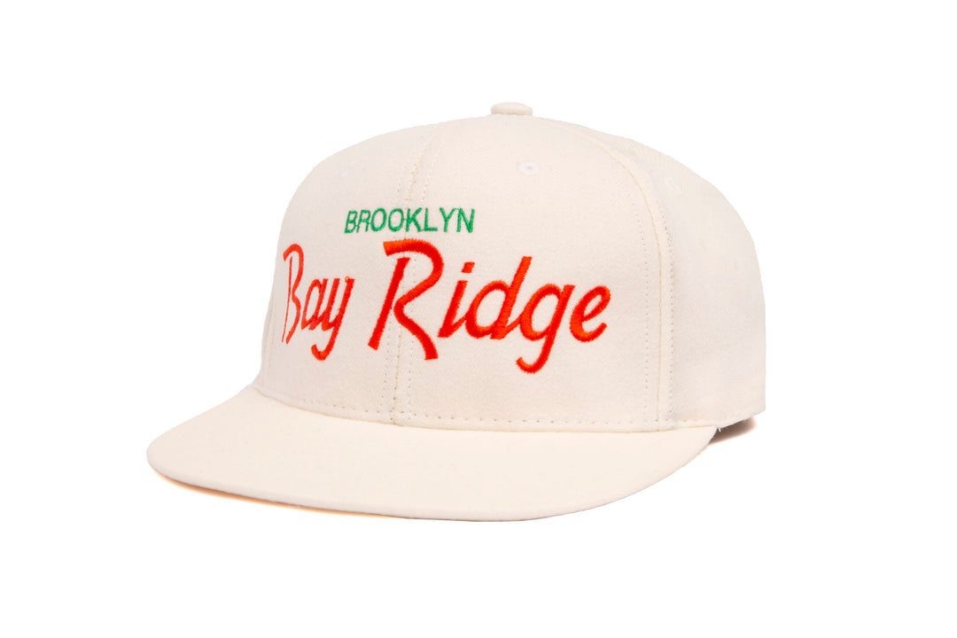 Bay Ridge wool baseball cap