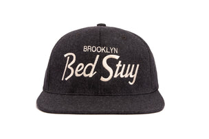 Bed Stuy wool baseball cap