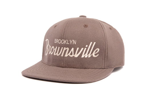 Brownsville wool baseball cap