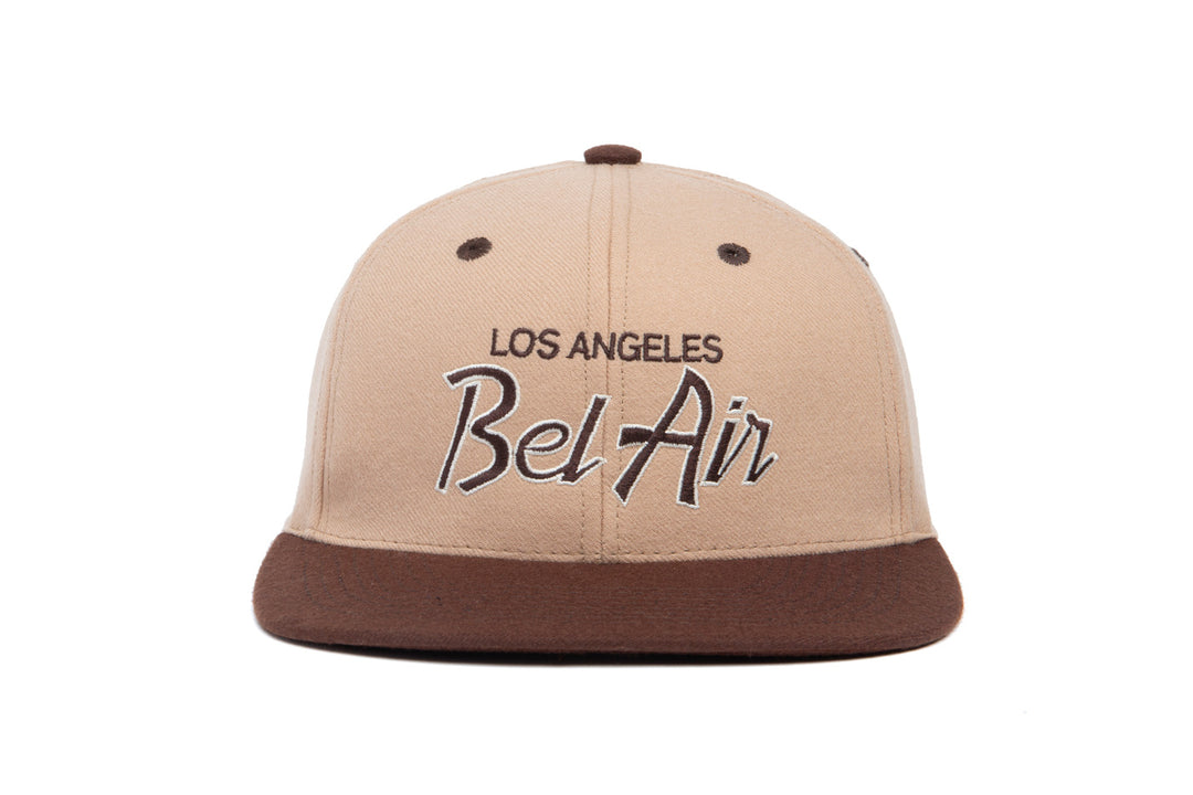 Bel Air Two Tone wool baseball cap