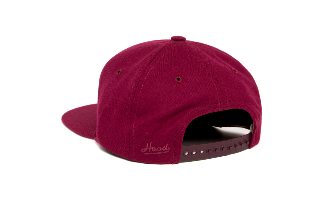 Blacksburg wool baseball cap