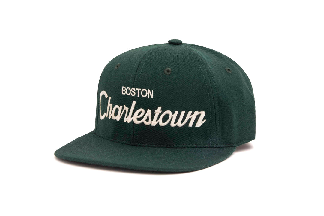 Charlestown wool baseball cap