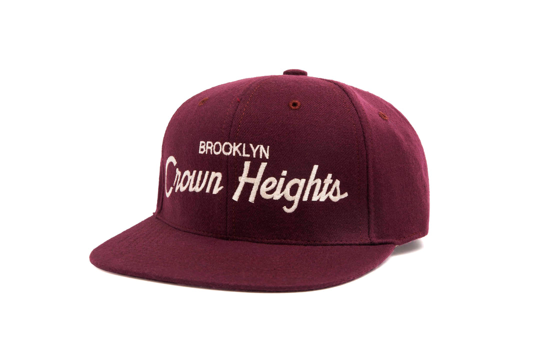 Crown Heights wool baseball cap