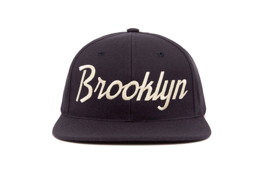 Brooklyn wool baseball cap