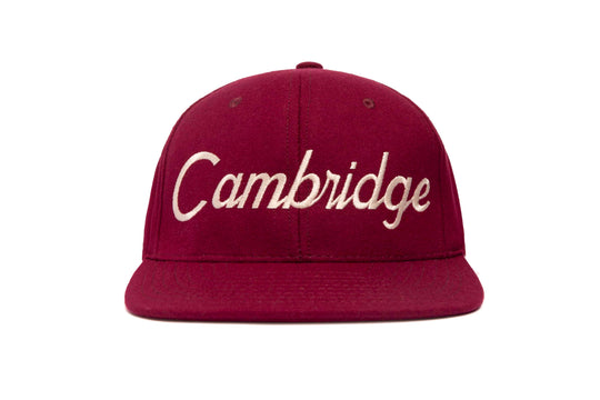 Cambridge wool baseball cap