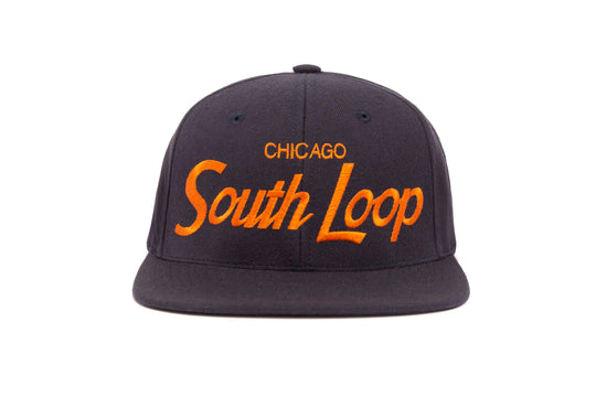 South Loop wool baseball cap