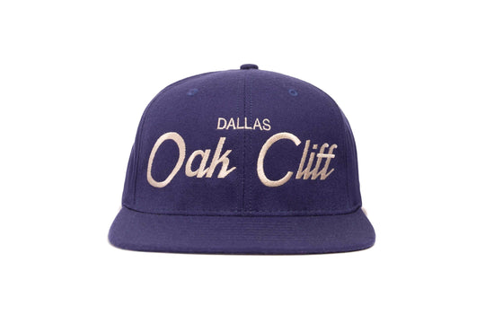 Oak Cliff wool baseball cap