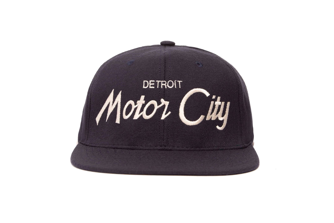 Motor City II wool baseball cap