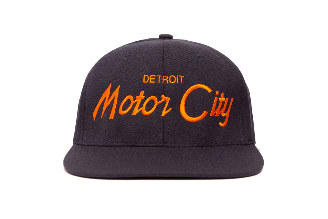 Motor City wool baseball cap
