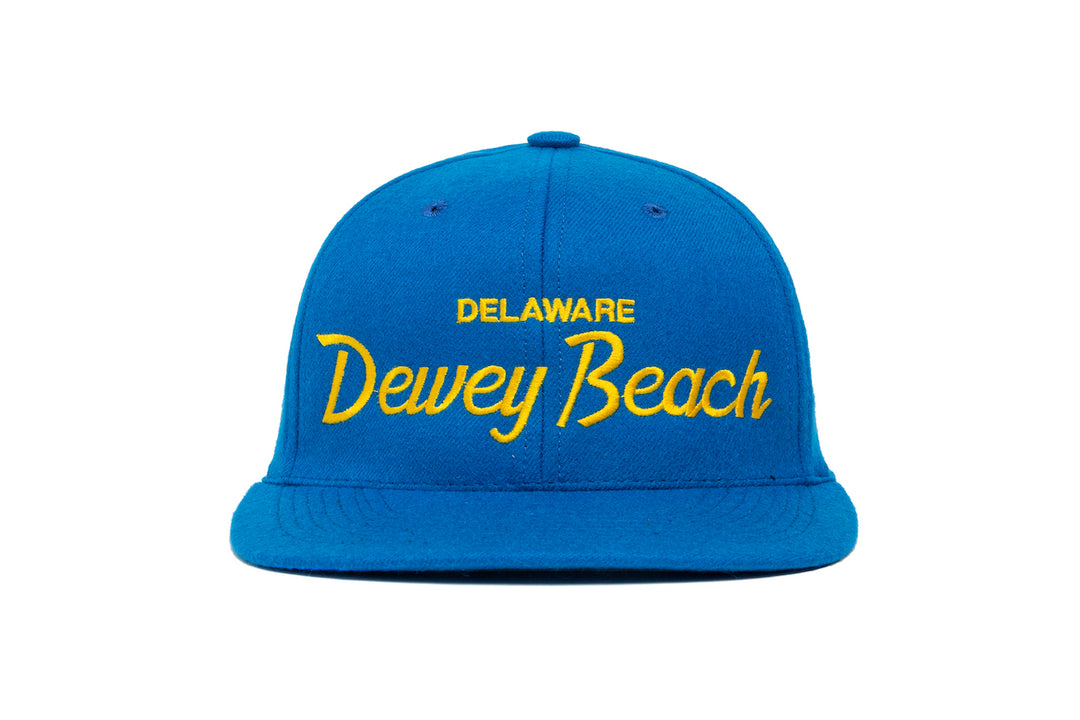 Dewey Beach wool baseball cap