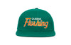 Flushing II             wool baseball cap indicator