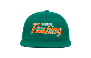 Flushing II wool baseball cap