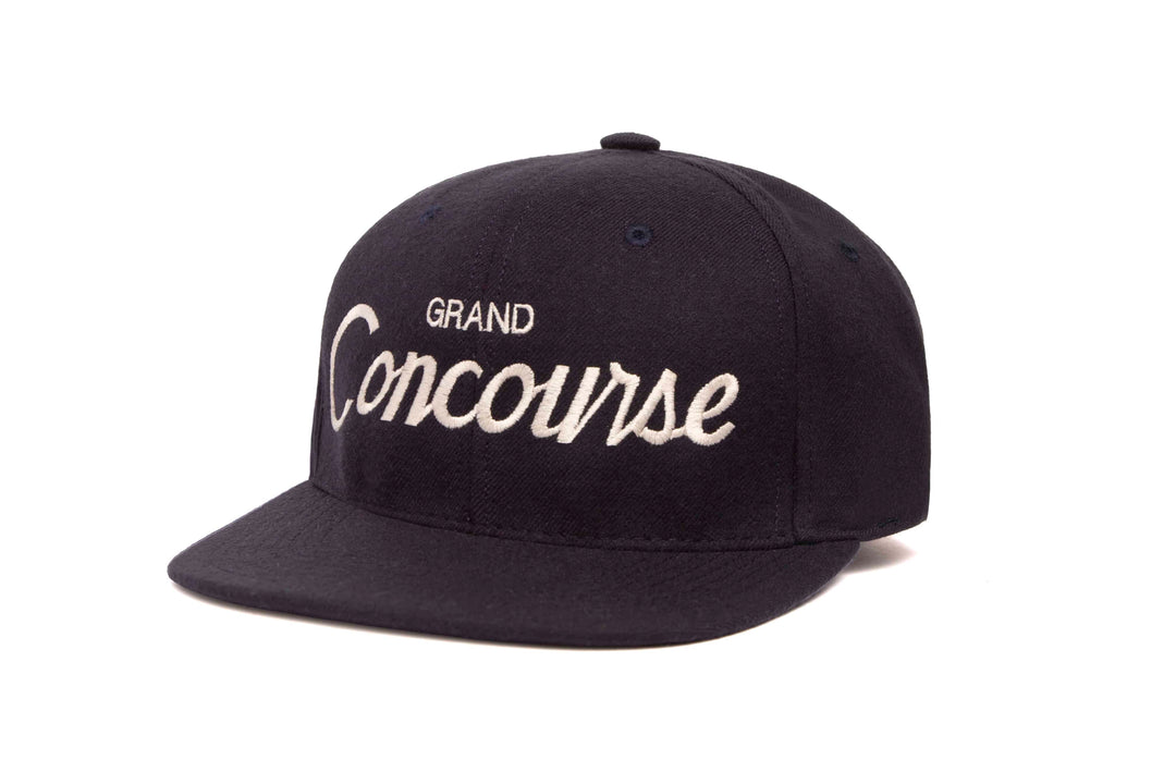 Grand Concourse wool baseball cap