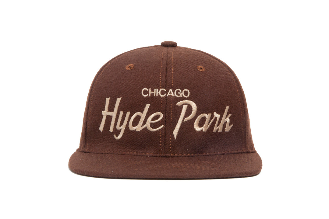 Hyde Park wool baseball cap