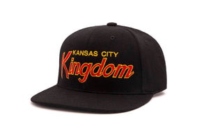 THE KINGDOM wool baseball cap