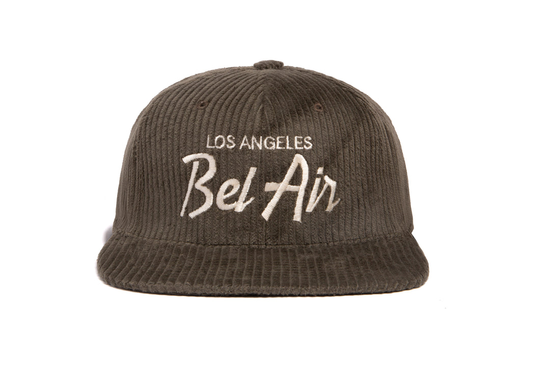 Bel Air Cord wool baseball cap
