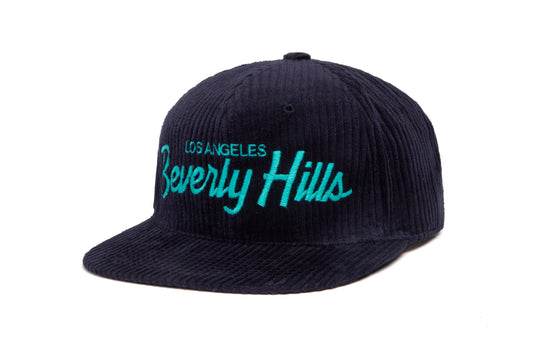 Beverly Hills Cord wool baseball cap