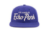 Echo Park             wool baseball cap indicator