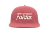 Fairfax             wool baseball cap indicator