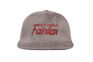 Fairfax Cord wool baseball cap