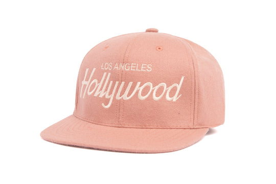 Hollywood II wool baseball cap