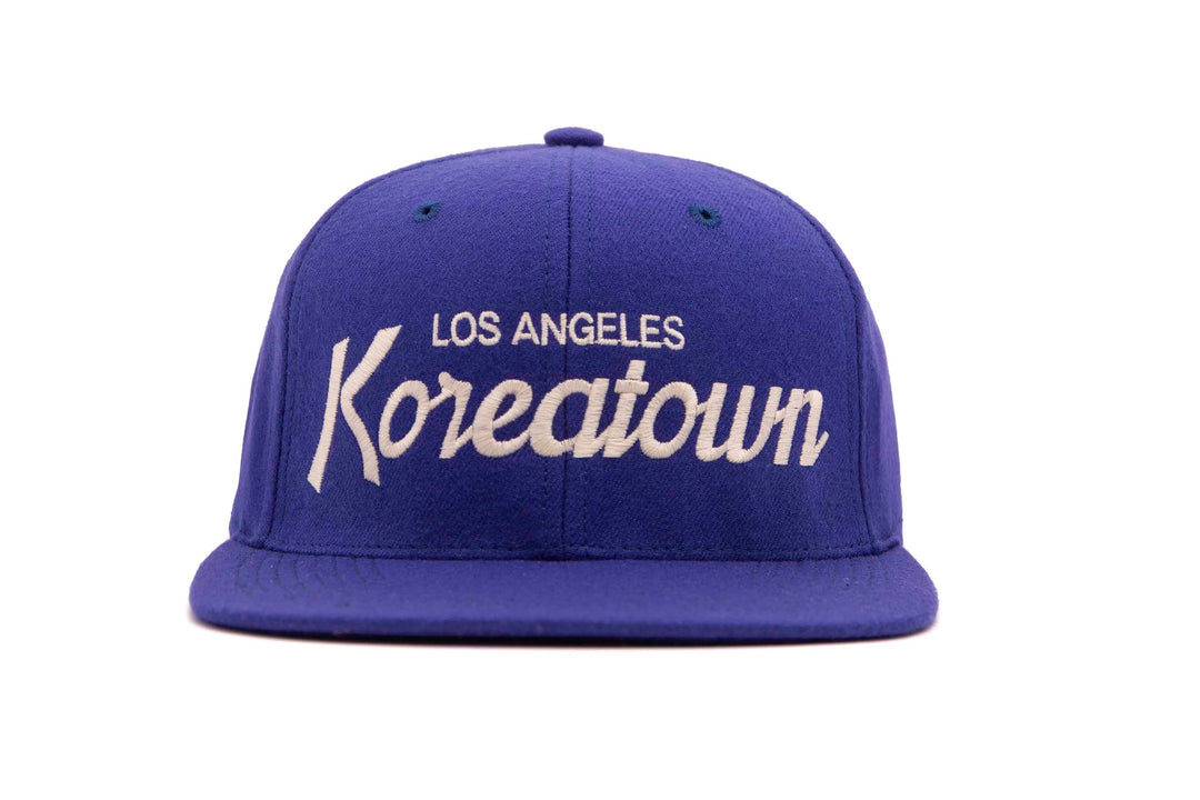 Koreatown wool baseball cap
