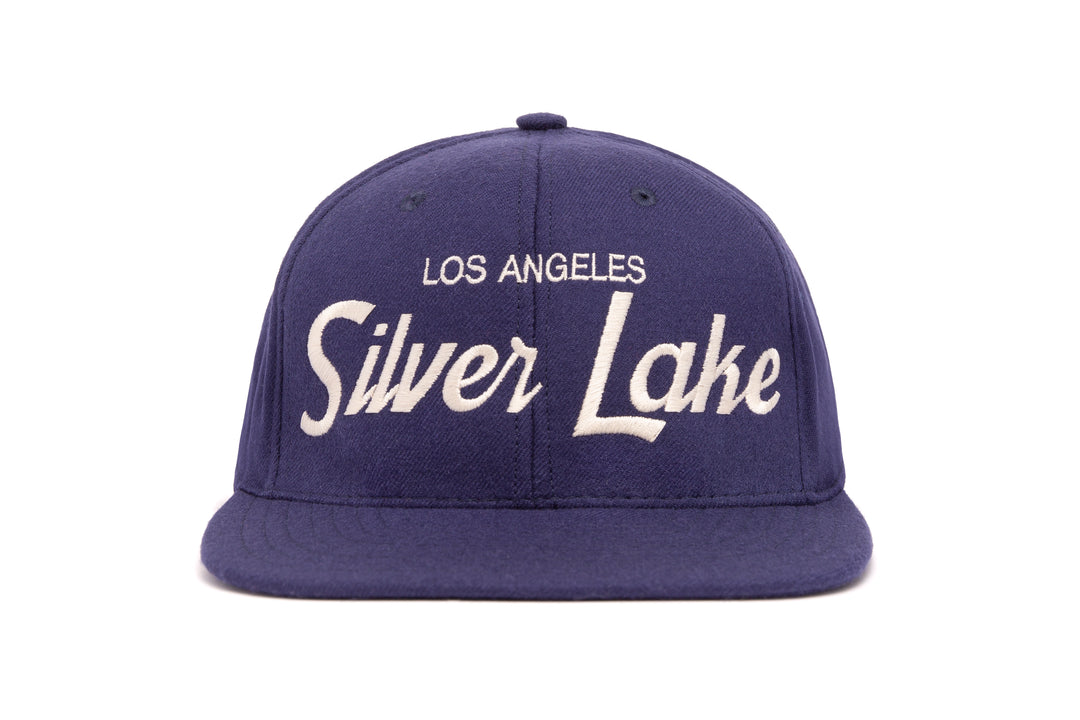 Silver Lake wool baseball cap